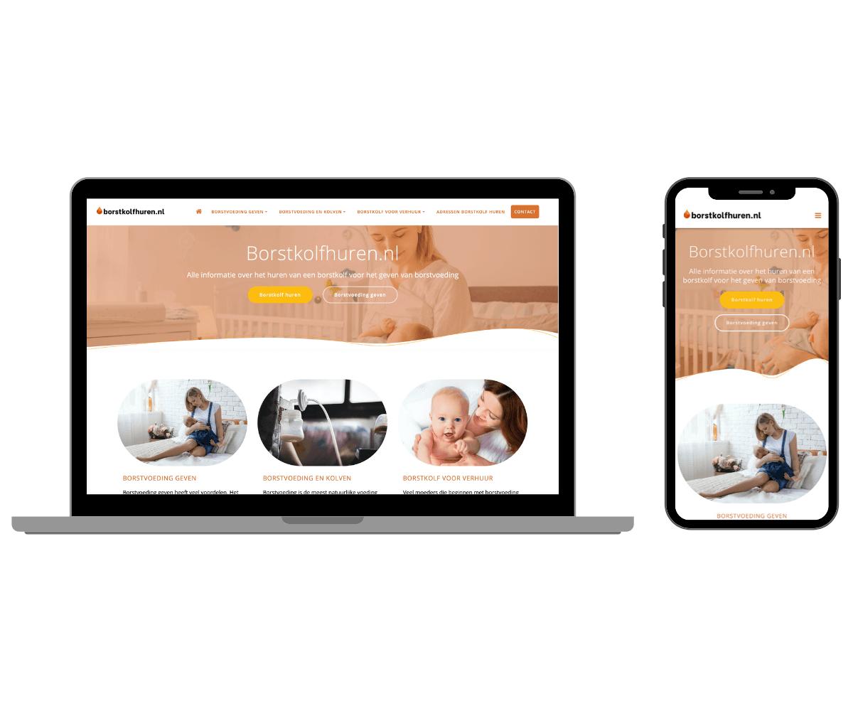 borstkolfhuren.nl responsive website