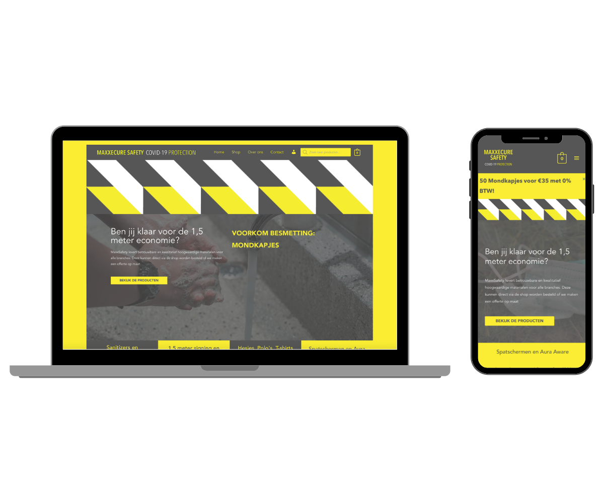 maxxecure safety responsive website